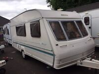 BAILEY RANGER 470/4 -1996- 4 BERTH- END CHANGING ROOM