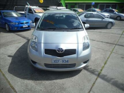 2007 Toyota Yaris NCP91R YRS 4 Speed Automatic Hatchback Preston Darebin Area Preview