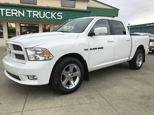 2012 Ram 1500 Sport 4x4 ~Loaded~DVD~Sunroof~ Low as $99 b/w