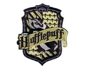 Harry potter ecusson hufflepuff blason poufsouffle hufflepuff school patch ebay - Harry potter blason ...