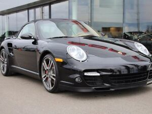 2008 Porsche 911 Turbo Convertible - Extremely Low Km