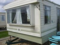 static caravan trusthorpe 8 berth half term special £180 plus 2018 dates avaliable