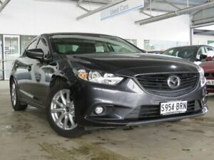 2015 Mazda 6 GJ1032 Sport SKYACTIV-Drive Grey 6 Speed Sports Automatic Sedan Edwardstown Marion Area Preview
