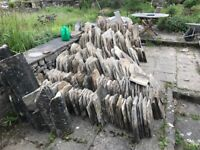 Stone roofing slate