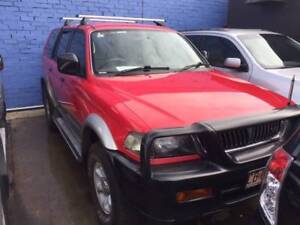 1998 Mitsubishi Challenger SUV West Footscray Maribyrnong Area Preview