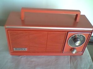 Vintage 1960s Sony Solid State Radio Perfect Working Condition