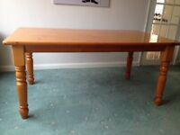 Large very sturdy dining table
