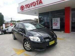 2007 Toyota Corolla ZRE152R Ascent Ink 4 Speed Automatic Hatchback Allawah Kogarah Area Preview