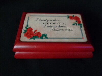 Love Always Diamond Pendant & Music Box Danbury mint  (Diamond Musical Box)