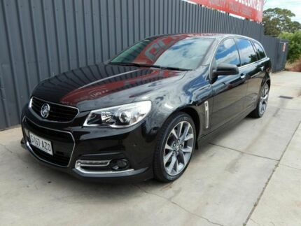 2013 Holden Commodore VF MY14 SS V Sportwagon Black 6 Speed Sports Automatic Wagon Blair Athol Port Adelaide Area Preview