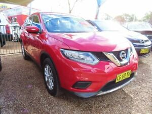 2016 Nissan X-Trail T32 ST X-tronic 2WD Red 7 Speed Constant Variable Wagon Mount Druitt Blacktown Area Preview