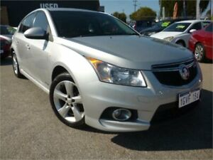 2012 Holden Cruze JH MY12 SRi Silver 6 Speed Manual Hatchback Wangara Wanneroo Area Preview