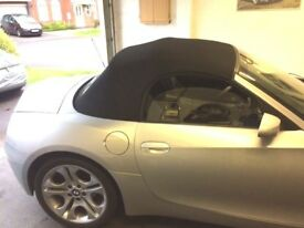 BMW Z4 (E85) Convertible Roof Repairs (Located in Bristol)