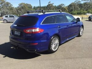 2016 Ford Mondeo Blue Sports Automatic Dual Clutch Wagon