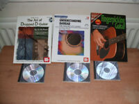 Guitar tuition books & cd's