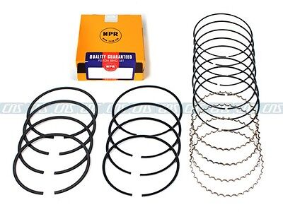 New Npr Piston Rings For 04 08 Acura Tsx 2 4L Dohc K24a2