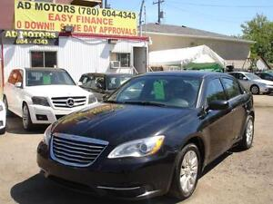 2013 CHRYSLER 200 AUTO LOADED 75K-100% APPROVED FINANCING!