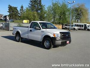 2013 FORD F-150 XL REGULAR CAB LONG BOX 4X4 *GOOD TRUCK*