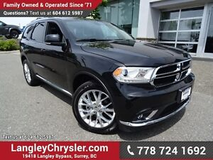 """2016 Dodge Durango Limited W/ REAR DVD PLAYER, 8.4"""" TOUCHSCRE..."""