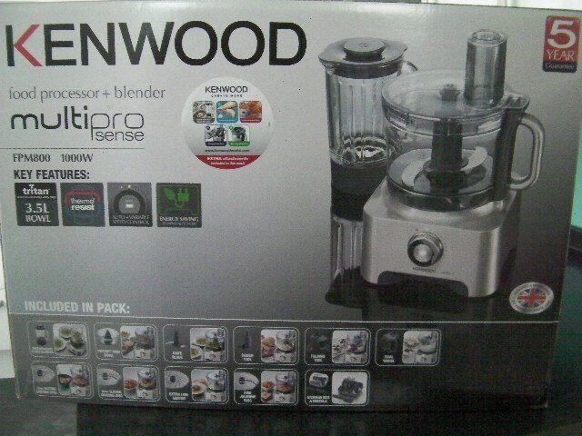 Kenwood food processor and blender