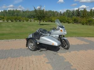 BMW K100RT with Velorex sidecar