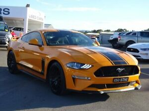 2018 Ford Mustang FN 2018MY GT Fastback SelectShift Orange 10 Speed Sports Automatic Fastback Albion Park Rail Shellharbour Area Preview