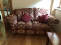 Lovely Duresta 2 large sofas for sale