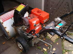 Smaller two stage snowblower