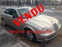VENDU - 2003 Jaguar S-TYPE