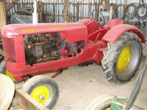 Massey Harris 101 Tractor