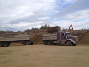 CLAY,GRAVEL,SAND,ROCKS, TANDEM, END DUMP TRUCKS, DUMPSITES ETC