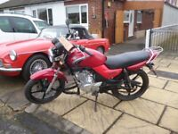 Yamaha YBR 125 Colour Red