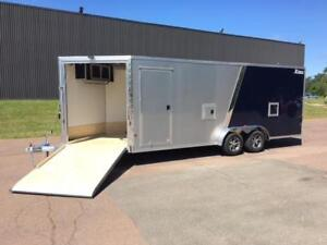 NEW 2019 XPRESS 7.5' x 25' ALL-SPORT SNOWMOBILE TRAILER