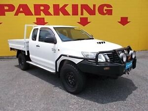 2012 Toyota Hilux KUN26R MY12 SR Xtra Cab White 5 Speed Manual Cab Chassis Winnellie Darwin City Preview