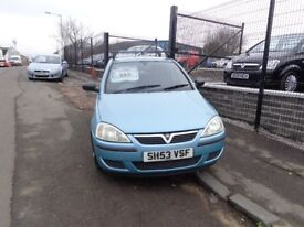 2003(53reg) Vauxhall Corsa 1.0 AUTO/MANUAL MOT'd 1 YEAR WAS £ 995 NOW£ 850