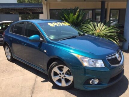 2011 Holden Cruze JH Series II MY12 SRi Blue 6 Speed Manual Hatchback Caloundra West Caloundra Area Preview
