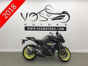 2018 Yamaha MT-10- V2939- No Payments For 1 Year**