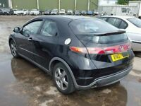 HONDA CIVIC 2009 BREAKING FOR SPARES TEL 07814971951 HAVE FEW IN STOCK