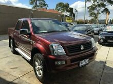 2005 Holden Rodeo  Burgundy Manual Dandenong Greater Dandenong Preview