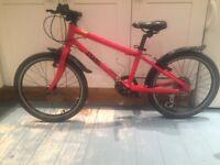 Frog 55 children's bike - red