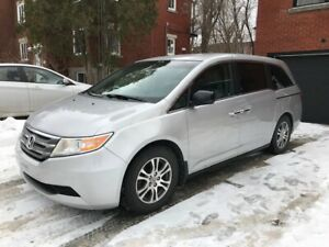 2012 Honda Odyssey EX 8 pass. 83 500 KM, en excellente condition