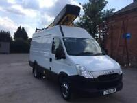 NEW SHAPE IVECO DAILY VERSALIFT ET-38-LF ACCESS PLATFORM/CHERRY PICKER 26k MLS
