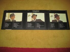 Collectable Frank Sinatra. His Greatest Years. 1962 Three Record LP Set.