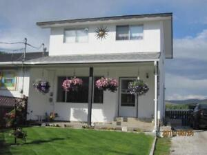 CLEAN 2level + bsmt.3bdrm/2bath/2sheds in Ashcroft Scenic Views