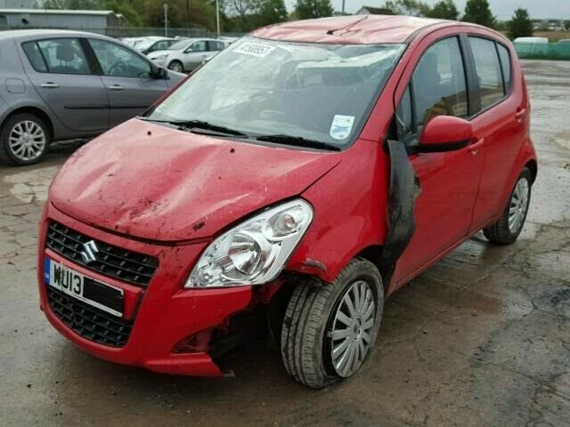 SUZUKI SPLASH SZ3 2013 5 DOOR HATCHBACK RED 996 cc 5 SPEED MANUAL PETROL BREAKING PARTS