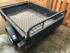 BOX/FLATBED TRAILER FOR SALE