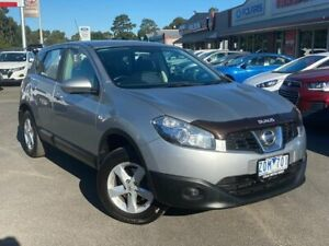 2012 Nissan Dualis J10 Series II ST Silver Constant Variable Colac West Colac-Otway Area Preview