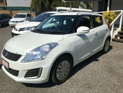 2016 Suzuki Swift FZ MY15 GL Navigator White 5 Speed Manual Hatchback Winnellie Darwin City Preview