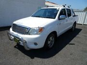 2007 Toyota Hilux GGN15R 06 Upgrade SR5 White 5 Speed Manual Dual Cab Pick-up Nowra Nowra-Bomaderry Preview