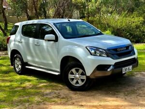 2016 Isuzu MU-X MY15 LS-M Rev-Tronic 4x2 White 5 Speed Sports Automatic Wagon Reynella Morphett Vale Area Preview